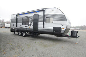 Looking to buy a toy hauler travel trailer