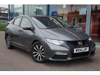 2014 HONDA CIVIC 1.6 i DTEC SE GBP0 TAX, 16andquot; ALLOYS and AIR CON