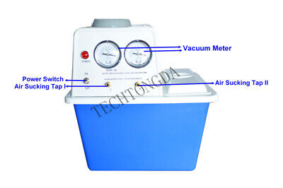 110v Circulating Water Vacuum Pump Air Lab Brand New