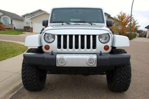 2012 Jeep Wrangler Sahara Unlimited Lifted