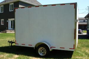 Remorque, fermé, motoneige,VTT, trailer, trailler