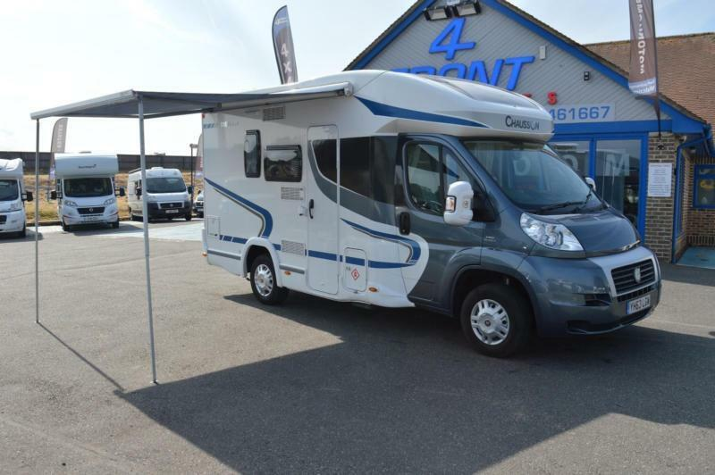 36925c148c 2014 CHAUSSON FLASH 515 COMPACT MOTORHOME A 1 OWNER FULL SERVICE AND  HABITATION