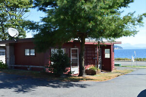 Semi-waterfront Development Property with Income Campbell River Comox Valley Area image 5