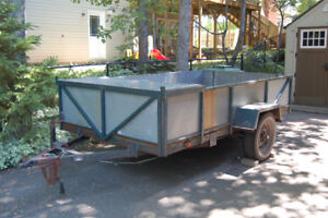 """1998 5'6"""" X 10' Strongly Built Utility Trailer"""