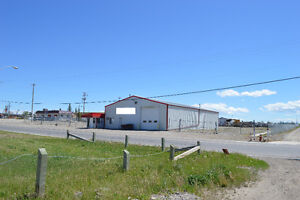 For Lease 5500sq/ft Commercial Property, 1.73 acres, High River