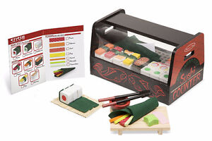 Brand New Melissa & Doug Roll, Wrap & Slice Sushi Counter
