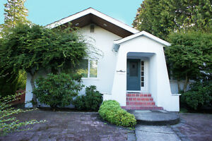 Vancouver Westside Single Family House with 4 Bedrooms & Rec Rm