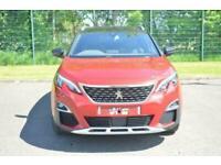 2018 Peugeot 3008 GT Line 1.2 PureTech SUV Petrol Manual