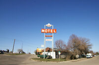 A motel Manager wanted.