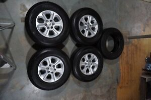 Stock 4runner Tires+Rims with Spare