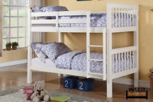 NEW ★ Solid Wood Splittable Bunk Beds ★