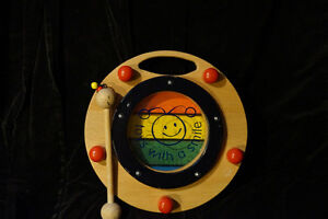 Two-Sided Musical Toy
