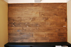 New Rustic Barnboard Wood Feature Walls Cambridge Kitchener Area image 2