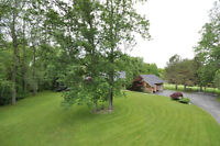 Supreme Country Home on Over 5 acres!