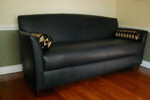 Leather sofa - Bernhardt