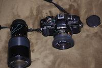 Minolta 35mm SLR Camera