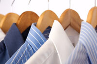 HELP WANTED: HIRING PRESSER AT DRY CLEANERS! GREAT SALARY!