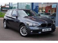 2014 BMW 1 SERIES 116d SE Step Auto GBP20 TAX, 16andquot; ALLOYS and DAB