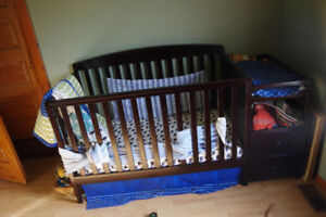 Brand new Crib and mattress set