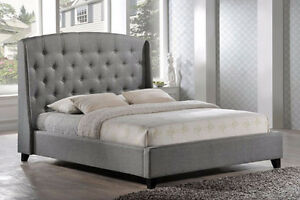Custom Made Upholstered Beds * Factory Direct