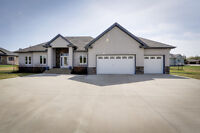 5 Bedroom Country Acreage Living...just minutes to the City!