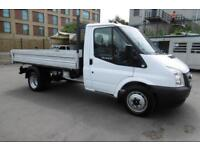 2014 FORD TRANSIT 350 SINGLE CAB ALLOY TIPPER WITH ONLY 50.000 MILES,6 SPEED,TWI