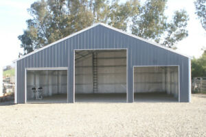 Steel Buildings, Farm Buildings, Airplane Hangars, Garages