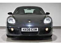 2008 Black Porsche Cayman 2.7 auto Tiptronic S Auto -FINANCE HP SWAP PX 84k