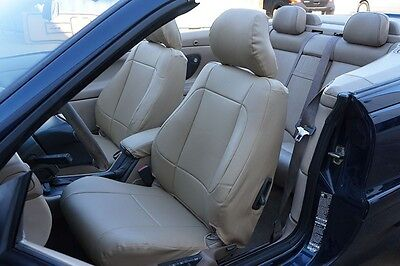 VOLVO C70 CONVERTIBLE 2006-2013 LEATHER-LIKE CUSTOM FIT SEAT COVER 13 COLORS