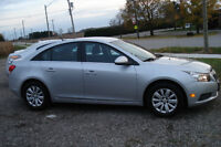 2011 Chevrolet Cruze LT CLEAN, ONLY 59KM, Turbo