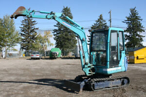 Mini Excavator | Buy or Sell Heavy Equipment in Canada