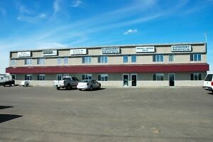 Affordable Hwy 16A prime location, 1 bay, 3 offices, Stony Plain