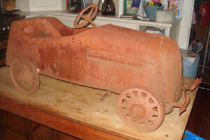 WANTED: antique pedal car, tractor, scooter, wagon, tin toys etc London Ontario image 5