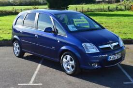 VAUXHALL MERIVA 1.4 16V Design 5dr VERY LOW MILEAGE ONLY 32,000 MILES