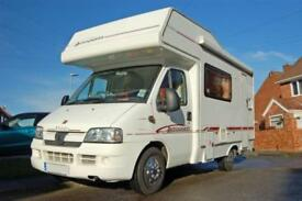 Elddis Autoquest 300 Family Motorhome, 4 seatbelts, 5 berths, low miles