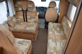2010 SWIFT VOYAGER 635 EK 40 MULTIJET 2.3 DIESEL 6 BERTH 6 BELTED TRAVELLING SE
