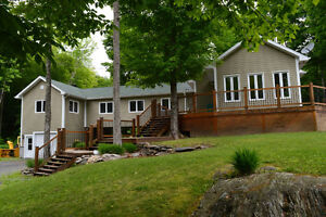 Piece of Paradise in Eastern Townships - 4 Bdrm, 11 acres, views