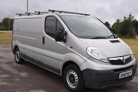 Vauxhall Vivaro 2.0CDTi ( 115ps ) ( EU V ) EcoLWB SILVER DIESEL VAN £7395 +VAT