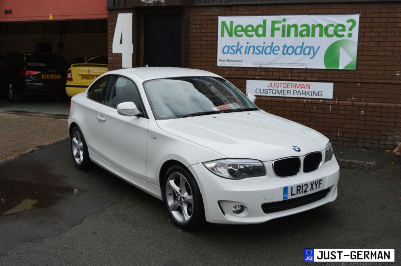 2012 12 bmw 1 series coupe 118d se 2 0 diesel facelift alpine white in wigan manchester - Bmw 2 series coupe white ...