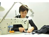 Qualified seamstress works from home in Glasgow