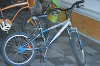 "Boys 18"" BMX style bike in good condition"