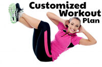 Offering Custom Workout Plan for $30 Flat Rate!