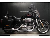 14/14 HARLEY-DAVIDSON XL 1200 T SUPERLOW SPORTS EXTRAS 9,500 MILES