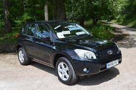 2006 TOYOTA RAV 4 2.2 D 4D XT4 5dr 4x4 TURBO DIESEL LEATHER INTERIOR