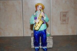 Musical Clown Figurine