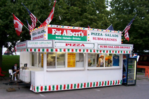 Food/Pizza Concession Trailer