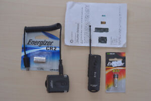 Promaster wireless remote trigger release, with new batteries