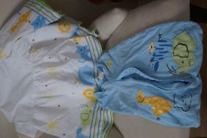 Sleep Sac and matching crib skirt