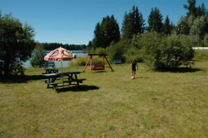 116+/- Acres Lake Front Land in British Columbia. will Trade @83