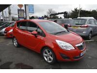 Vauxhall/Opel Meriva 1.7CDTi 16v ( 100ps ) auto 2010MY Exclusiv